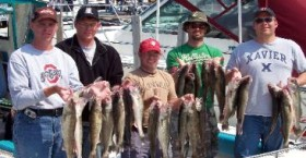 Lake Erie Walleye Charters are a great way to get away with your buddies.