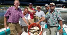 Lake Erie Walleye Charters is a great way to get away with your co-workers.